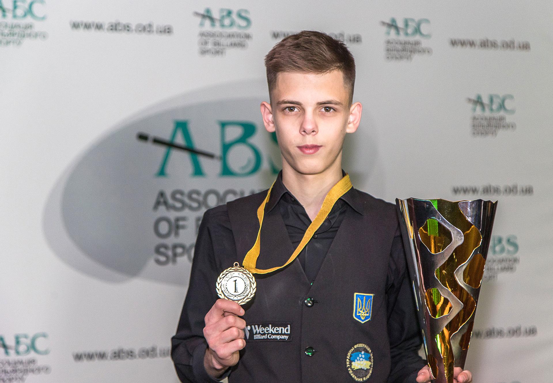 Владислав Еленич стал победителем кубка ABS CUP 2019 в Одессе